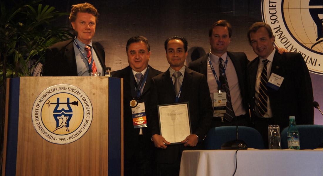 Dr. Andri Lubis - Richard Caspary Award